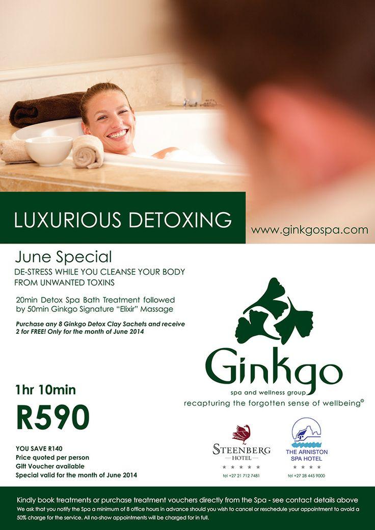 June Ginkgo Spa Specials