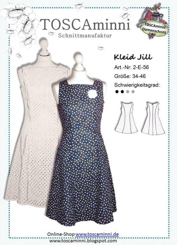 Ebook Sommerkleid Jill, Gr. 34-46