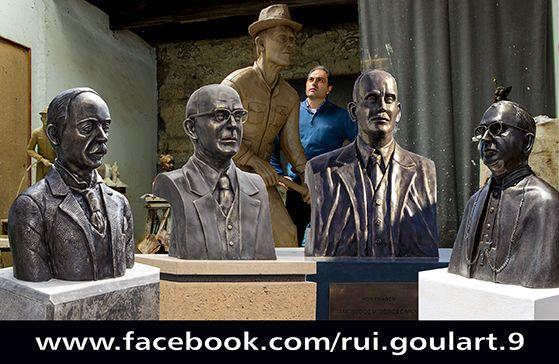 #artist #sculpture #azores @GoulartEscultor