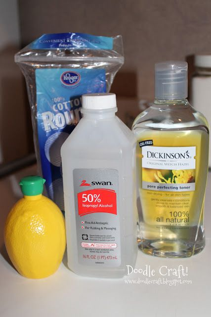 DIY Facial Toner... Witch Hazel, Lemon Juice, Rubbing Alcohol. Store in travel size bottles. I decided against the rubbing alcohol... It seemed like to much for what I was going for. So easy!!