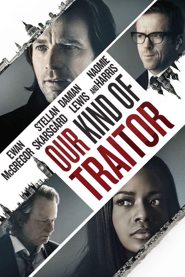 Our Kind of Traitor Movie Poster - Ewan McGregor, Naomie Harris, Damian Lewis  #OurKindOfTraitor, #EwanMcGregor, #NaomieHarris, #DamianLewis, #SusannaWhite, #Thriller, #Art, #Film, #Movie, #Poster