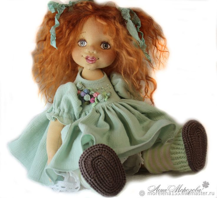 Jeanette. Author's textile doll – shop online on Livemaster with shipping
