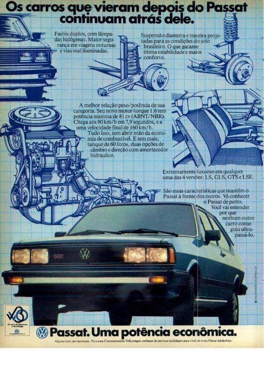 1983 VW Passat  - Brasil