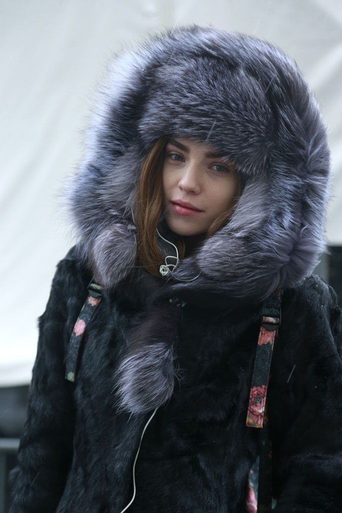 All furred up. And warm. | They Are Wearing: New York Fashion Week - Slideshow - WWD.com