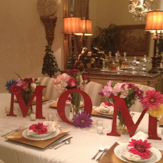 17 Best Images About Mothers Day Decorations & Bows On