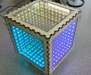 How to make an infinity mirror box  https://www.leddancefloor.info