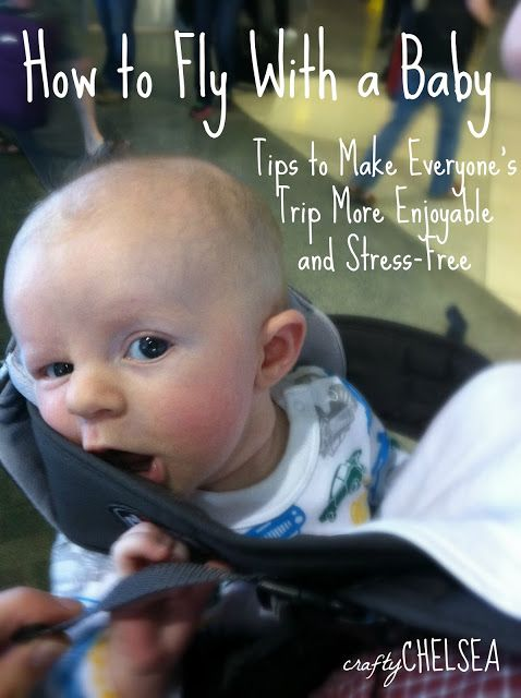 How to Fly With a Baby: Tips to Make Everyone's Trip More Enjoyable. Perfect for this time of year when you are traveling for the holidays!