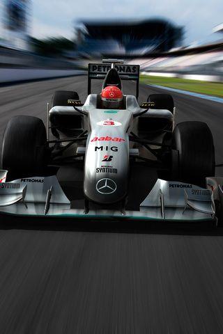 Mercedes Formula 1 iPhone Wallpaper