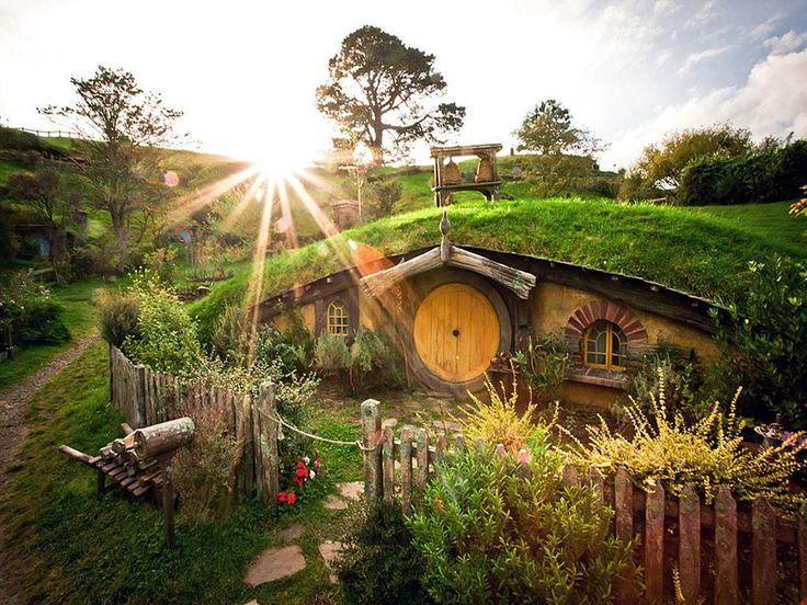 Хоббитон. Новая Зеландия - 12 мест для посещения