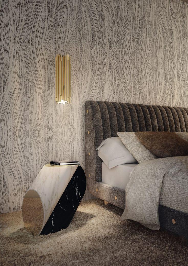 Inspiring nightstand design for ultra-modern bedrooms | www.masterbedroomideas.eu #bedrooms #bedroomideas #modernbedroom #nightstands #modernnightstands #nightstandsideas #bedsidetables