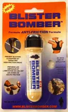 """The 'Ultimate' anti friction solution that soothes & protects skin against blisters, rashes & chaffing. """"Keeps you on track & ahead of the pack"""""""