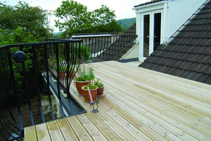 Roof Terrace Flat Roofing From Roof Assured