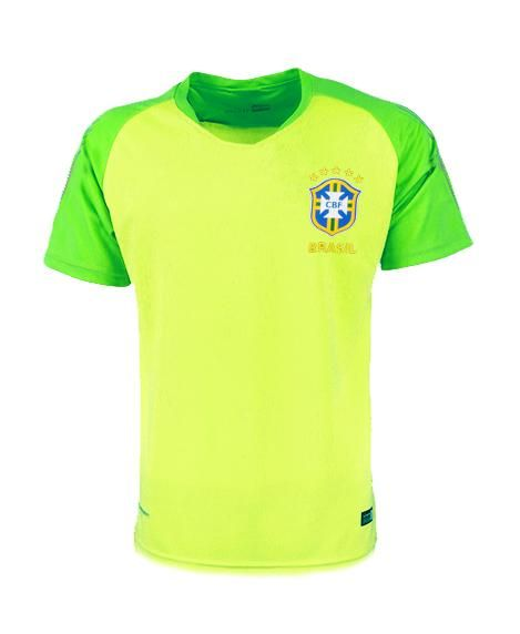 Brazil national football team 2018 FIFA World Cup Yellow Goalkeeper 2018-2019  FÚTBOL SOCCER KIT CALCIO SHIRT JERSEY FUSSBALL CAMISA TRIKOT MAILLOT MAGLIA  ... 551d29701