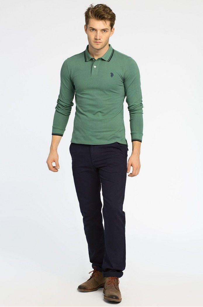 T-shirt a polo S dlouhým rukávem  - U.S. Polo - Tričko s dlouhým rukávem Sebastian