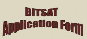 bitsat 2016 online application form