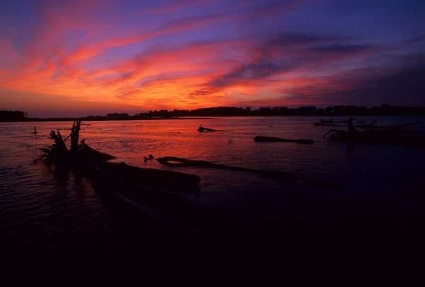 Dawn on the Missouri