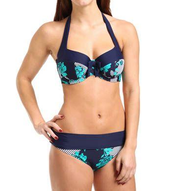 Panache Page Halterneck Bikini Swim Top