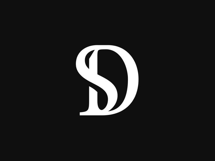 DS Monogram by Type08 (Alen Pavlovic) #Design Popular #Dribbble #shots