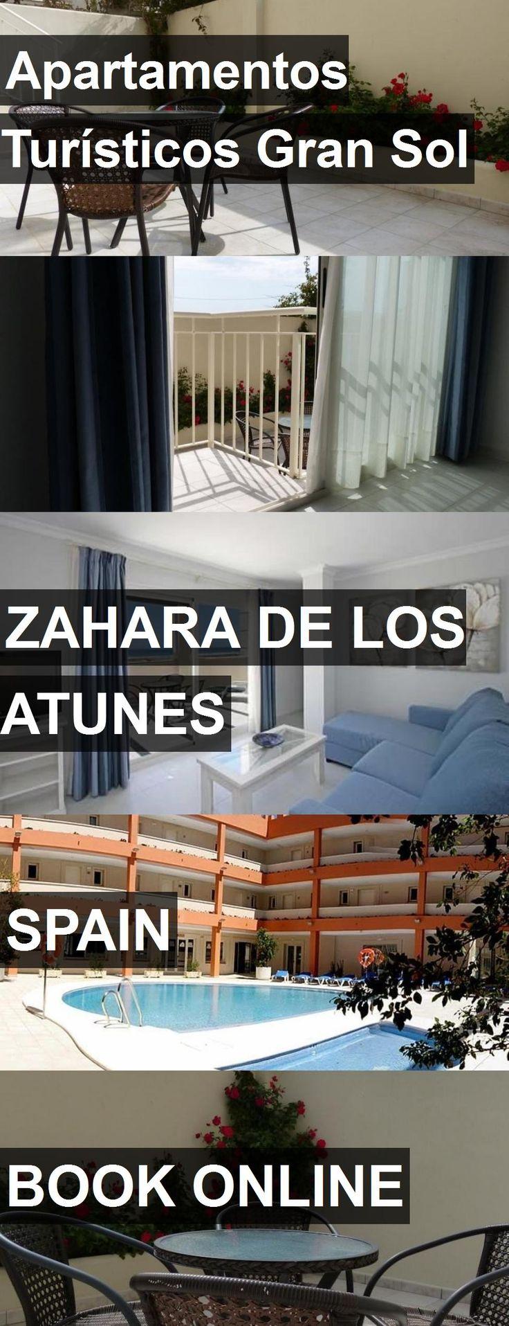 Hotel Apartamentos Turísticos Gran Sol in Zahara de los Atunes, Spain. For more information, photos, reviews and best prices please follow the link. #Spain #ZaharadelosAtunes #ApartamentosTurísticosGranSol #hotel #travel #vacation