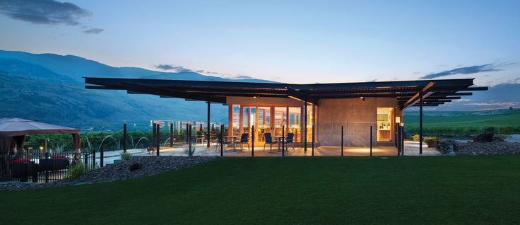 While dozens of wineries in the Okanagan have jaw-dropping views, these eight have amped up their vineyards with buildings as beautiful as the surroundings.