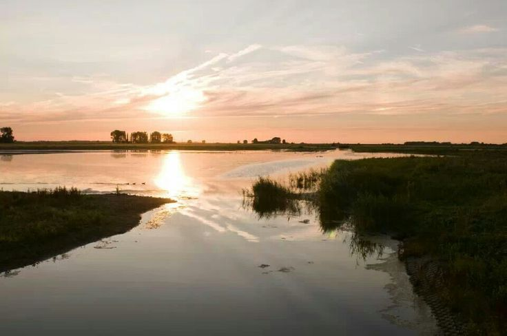 Tiengemeten Island, The Netherlands