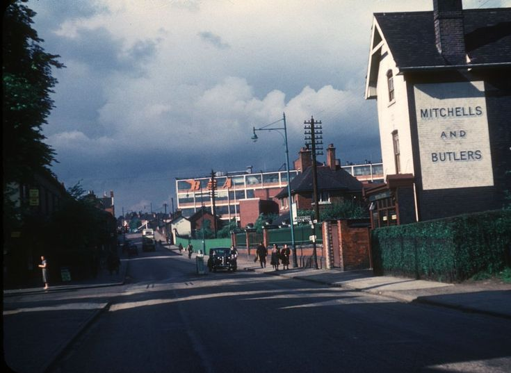 Golden Hillock Road 1953