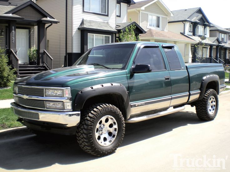 98 chevy silverado parts | Truckin Magazine Readers Rides 1998 Chevy Silverado Photo 1