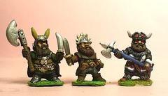 Q105 Chaos Dwarf: Three assorted Dwarf Guard