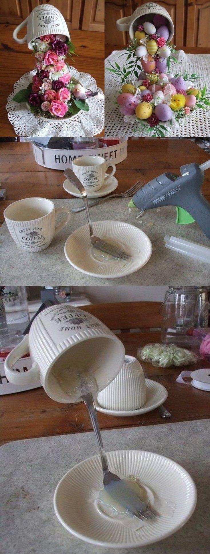 Schmcken Sie Ihr Wohnzimmer Mit Diesen Schnen Osterideen Tipp Mssen Auch Ausprobieren