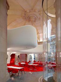 L'entrée du restaurant de l'Opéra Garnier Olide Decq