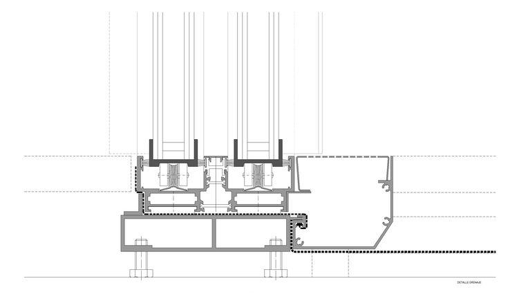 Todas las características sobre el Sistema Amplitude de ventana minimalista: características, ficha técnica y dibujos cad