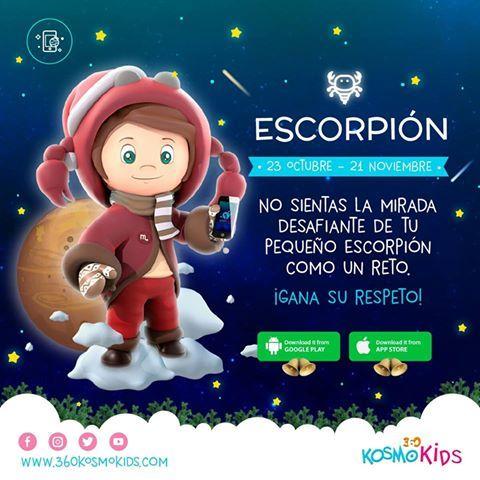Descubre con nuestra app una guía sabia para ganar el respeto y aprender a identificar los rasgos imponentes de tu hijo. ¡Dale click al link http://ow.ly/yqGR3070wX1 para conocer más! #360KosmoKids #Niño #Escorpión #Desafiante #Reto
