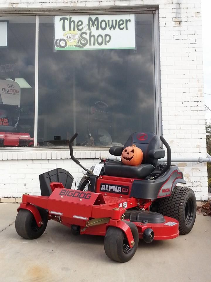 Happy Halloween from the Mower Shop of Springfield, TN!