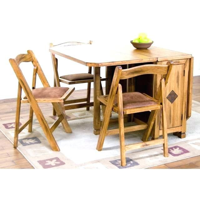 Gateleg Table And Chair Storage Ikea Table With Storage Table With Storage Table With Folding Chair Drop Leaf Table Kitchen Table Settings Folding Dining Table