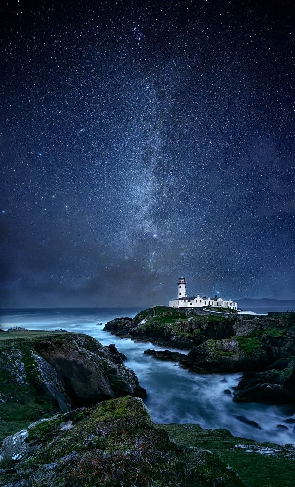 Fanad Head Lighthouse, County Donegal, Ireland Granda Joseph Duffy was from Letterkenny migrated to Port Glasgow Scotland during famine... lots of lovely cousins remain there. xx