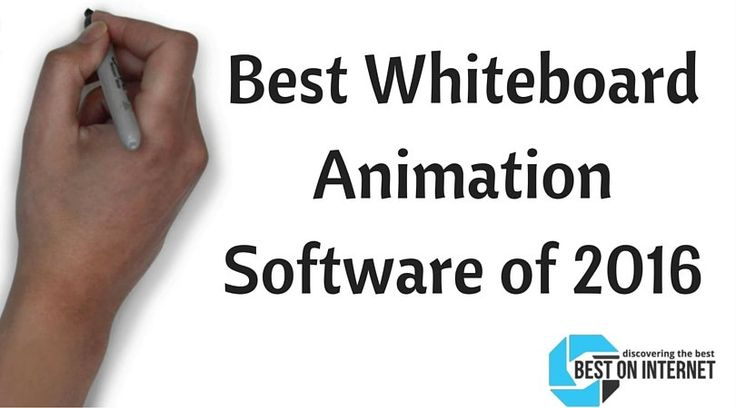 Get the Best Whiteboard Animation Software of 2016 to create your best animated…
