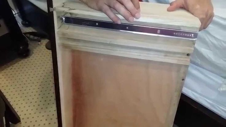 How to fix a dresser drawer slide! I need this so badly for my dresser since it pops off the track every time I use it