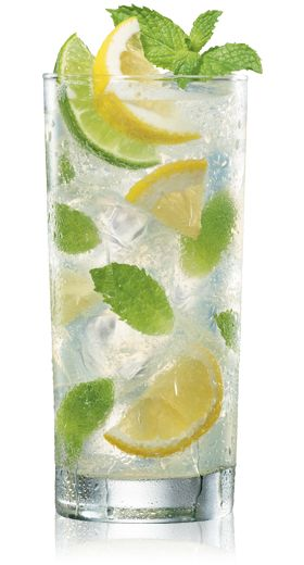 BACARDI® LIMÓN ™ Mojito... just made this! sipping as i Pin and its delish!!! :)