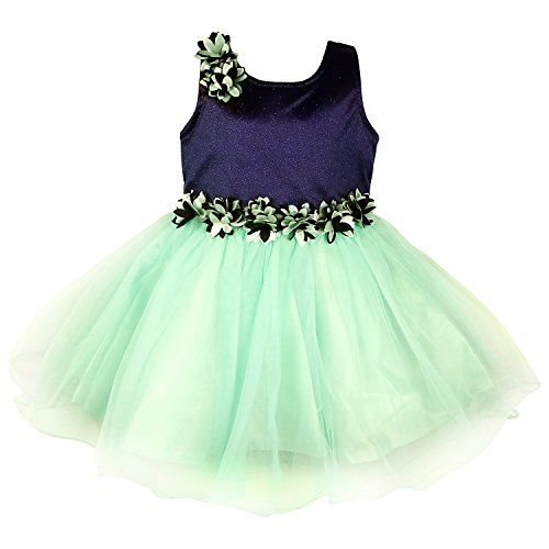 Wish Karo Party wear Baby Girls Frock Dress DN1006 - http://www.zazva.com/shop/kids-clothing-accesories/wish-karo-party-wear-baby-girls-frock-dress-dn1006/ Premium Sea Green Color Frock Dress This is made up of Net Material. It has a Pretty Floral Design on waistline,