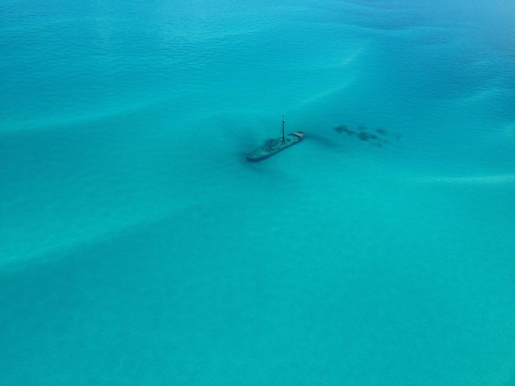 Shipwreck en route to Dry Tortugas National Park, from Key West. June 23, 2014, Cara Allen