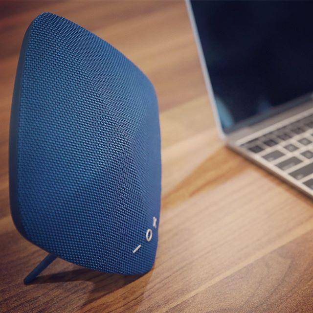 RockSpace Muse Bluetooth speaker, features a USB port, AUX ...