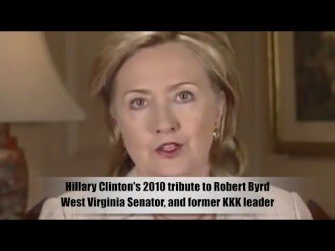 Hillary Clinton calls former KKK Leader her 'mentor and friend' (Robert ...