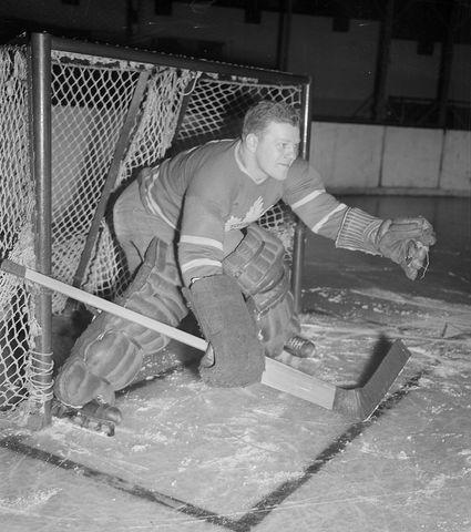 Turk Broda - Toronto Maple Leafs Goaltender - 1940s