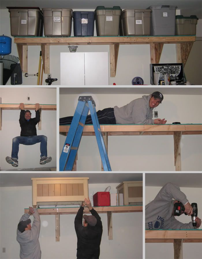 Garage Shelves Ideas | Garage Shelves   How They Should Be Arranged
