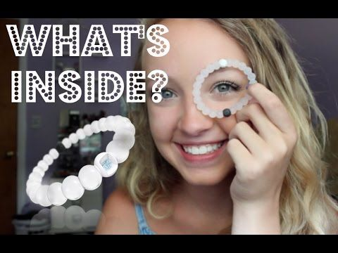 Cutting Open A Lokai Bracelet! What's Inside?? - YouTube : go look at this @donikate99 since you were wondering(;