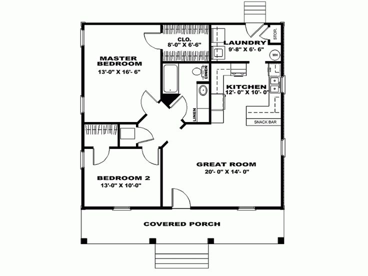 Pleasing 17 Best Images About Floor Plans On Pinterest One Bedroom Largest Home Design Picture Inspirations Pitcheantrous