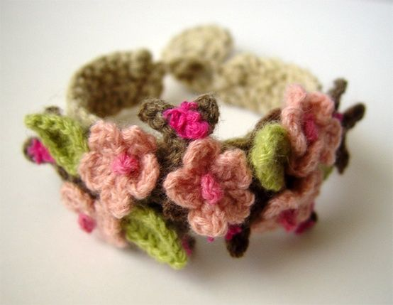 Crochet Cherry Bloss