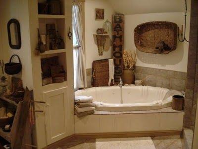 A Fine Farmhouse: Farmhouse Bath.Ideas For Master Bathroom.