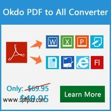 Get the Okdo Pdf to PowerPoint Converter software for windows for free download with a direct download link having resume support from Softpaz - https://www.softpaz.com/software/download-okdo-pdf-to-powerpoint-converter-windows-182470.htm - just click the download button on that page