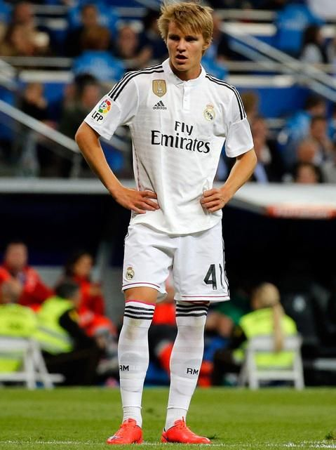 Martin Ødegaard (Norway) debut Real Madrid